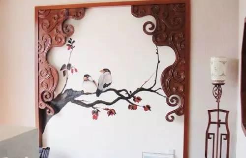千娇百媚手绘墙 涂料绘制个性